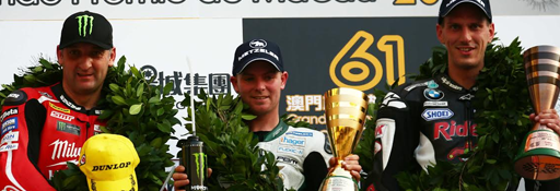 Rapid Solicitors' Easton Wins Macau Grand Prix